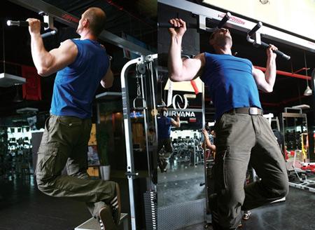 健身房健身器械图片