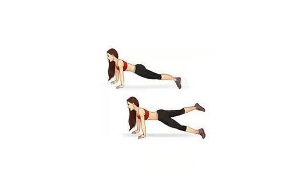 4个动作瘦成筷子腿图片