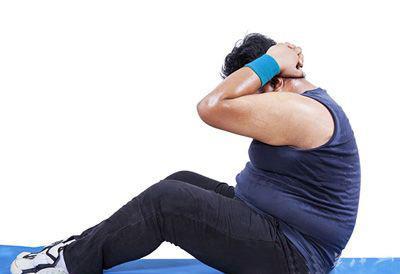 <b>腹肌练不出来,真的不是你不努力,而是这两个原因造成的!_健网</b>
