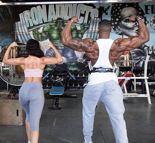 大肌霸的女友都长什么样?终于知道男生为啥要拼命健身了!