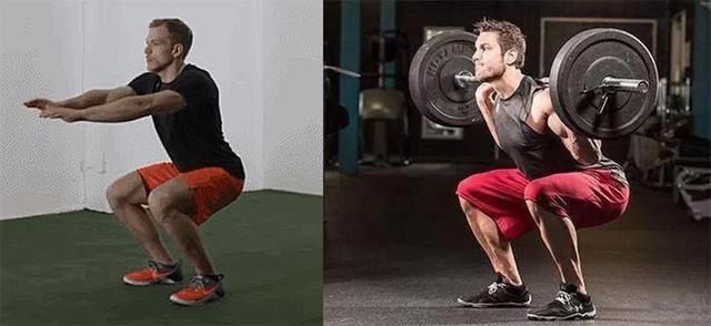 体脂率比较低的人每天做100个负重深蹲,30天后会有怎样的变化