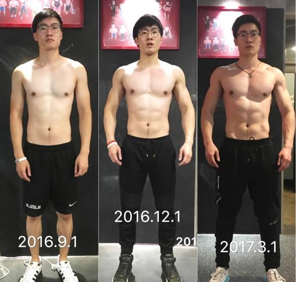 健身像雕刻大师,每周保持6次训练,坚持八个月,练出胸肌_健网