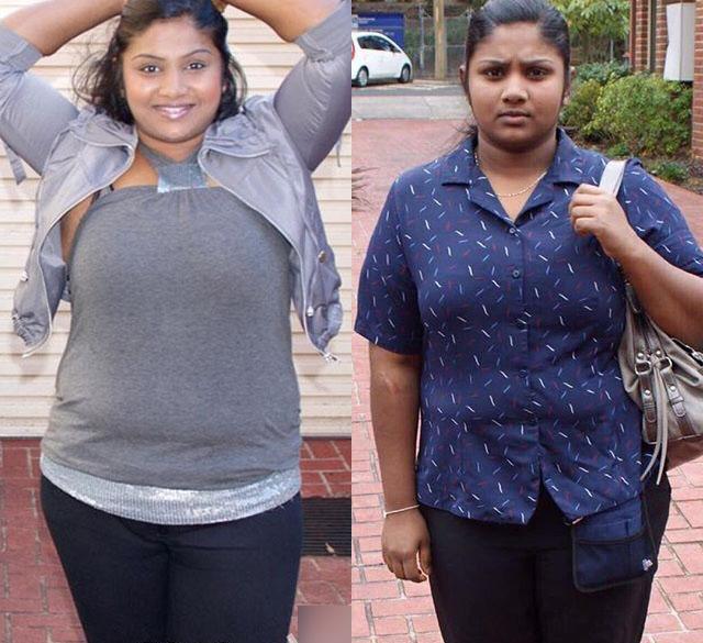印度胖女孩1年减肥80斤,现实中的丑小鸭蜕变成白天鹅!