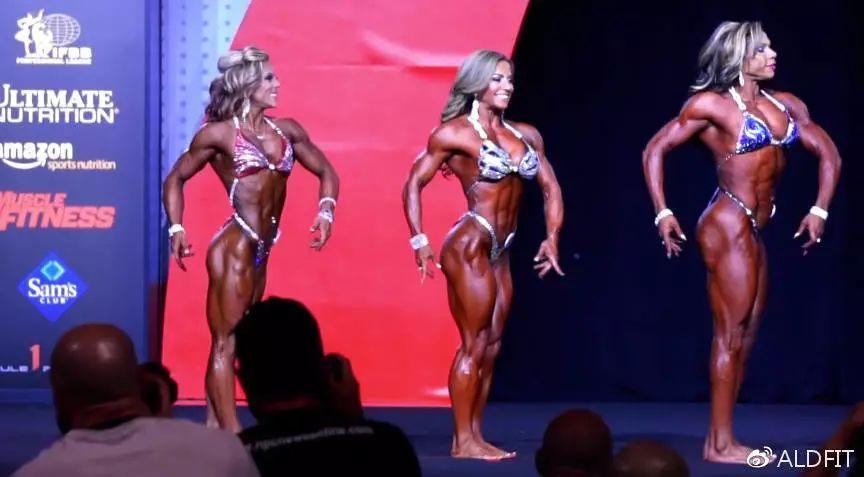 欧美vs韩国健美肌肉女,你更喜欢哪一种?!_健网