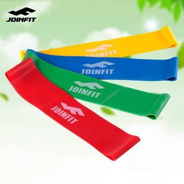 Joinfit迷你弹力圈 乳胶拉力圈 健身弹力带 女力量训练拉伸阻力带10mm  5磅