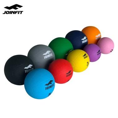 JOINFIT高弹橡胶实心球1KG重力球健身球 药球 腰腹部体能康复训练