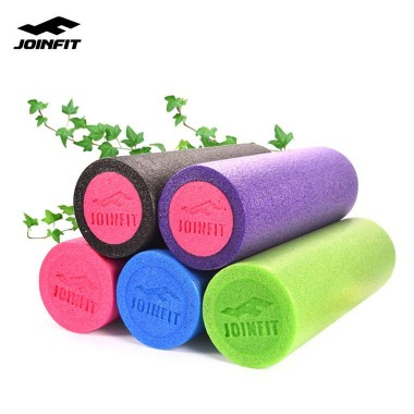 Joinfit实心泡沫轴90cm肌肉放松按摩轴 健身瑜伽柱滚轴