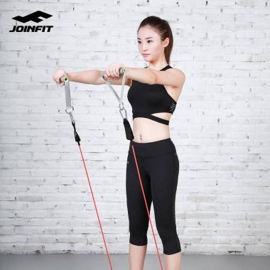 Joinfit力量训练拉力器弹力绳把手(对装)