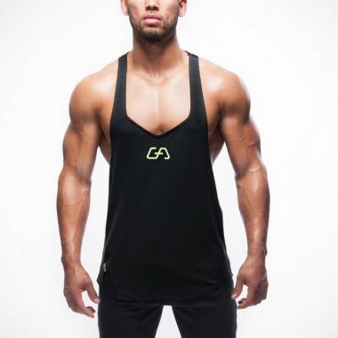 肌肉兄弟男士工字弹力速干健身运动背心