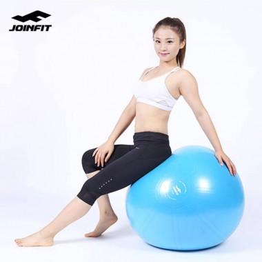 Joinfit 加厚防爆瑜伽球磨砂面(65CM紫色) 运动平衡健身球 孕妇分娩球 减肥大龙球