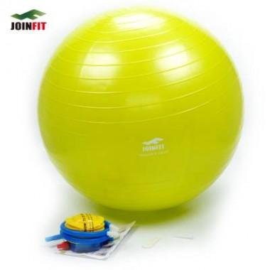 Joinfit加厚防爆瑜伽球光面(草绿色螺旋纹)