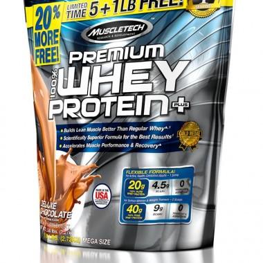 Muscletech肌肉科技白金袋装复合乳清蛋白粉6磅