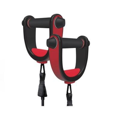Move it 移动互联智能4合一健身设备 弹力绳、俯卧撑架、跳绳、健腹轮