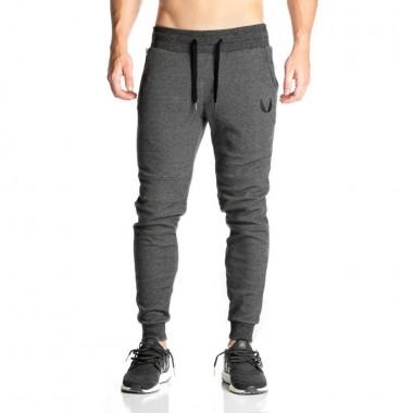 肌肉兄弟男士运动休闲训练小脚束口长裤