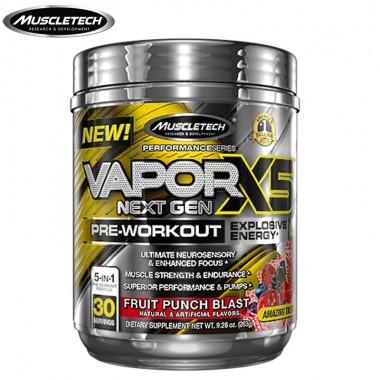 Muscletech肌肉科技vapor X5 五重纳米增效氮泵263克