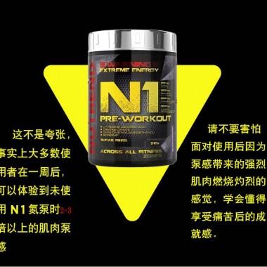 NUTREND诺特兰德N1氮泵510克