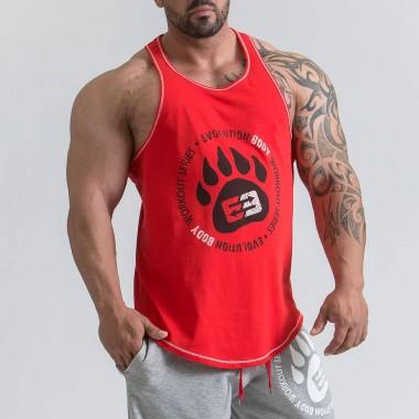 肌肉兄弟男士纯棉透气健身训练背心