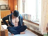 李文宇教练个人风采展示 酷酷的肌肉小哥