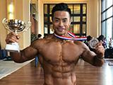 最强冠军之王,2亚军8冠军+舒华杯全场冠军!冉茂荣的肌肉视觉盛宴!