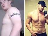 历时三年,从土肥胖圆到肌肉猛男惊天大逆转