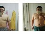 我的励志减肥故事,半年210斤到156斤