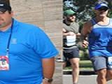 男子减肥145斤 感叹:跑步拯救我的生活
