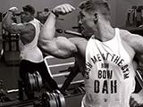 完美肌肉和高颜值集于一身的健身男神,比大熊猫还稀有的肌肉男