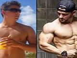 没基础的瘦皮猴多久练成肌肉男,期间要经历哪些变化?