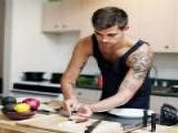 会做饭的男人魅力加分,健身的男人会做饭,男友力MAX!