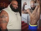 NBA保镖3年减肥270斤成健美冠军 松弛皮肤竟达30斤
