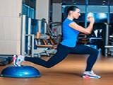 另类bosu球训练法 让健身充满乐趣