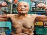 无论年龄多大,都不会放弃皇冠现金身,这位103的肌肉老人令人敬佩