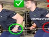 健身动作对比图,纠正那些你做错的动作!