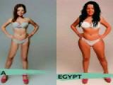 不同国家男性的审美观,明白了国内女孩健身有多不容易!
