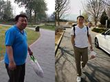 健身瘦了近100斤是什么感觉?看他如何干掉大肚腩!