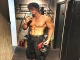 天津体院走出来的型男,练就满身肌肉,成健身私教培训总监