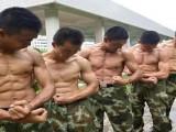 腹部绕杠动作能让你的腹肌更加清晰,看看国内军人的肌肉照!