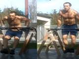 徒手健身100天效果如何?80公斤减肥大叔86公斤增肌小伙进行了挑战!