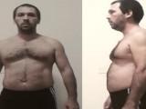 大叔在家训练减掉22斤,练出腹肌仅用了15周,还是徒手训练!