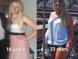 这位女士用20周告诉你,只跑步可以帮助减脂肪瘦肚子!