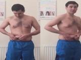啤酒肚大叔励志健身蜕变路,90天不仅甩掉了小肚腩,还练出了胸肌!