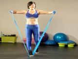如何用弹力带学习健身基本动作