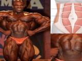 腹直肌分离不只有产后妈妈才会有,健美运动员看起来更明显!