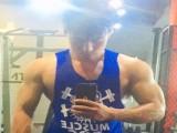 金牛座倔强爷们,把健身当成一种热爱,用时光雕刻出满身肌肉
