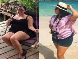 175斤女孩嫌腰粗,每天坚持跳绳30分钟,3个月后令丈夫刮目相看!