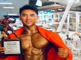 90后肌肉男洪晓龙,泰国曼谷获亚太健美锦标赛健体冠军,恭喜!