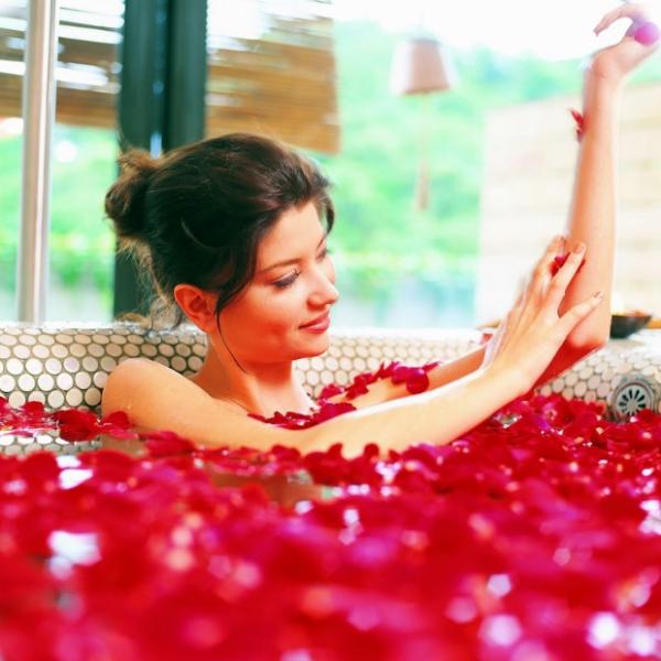 精油泡澡方法和精油泡澡配方