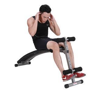 家庭健身房腹肌板锻炼