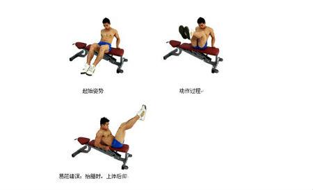 坐姿收腹举腿怎么做