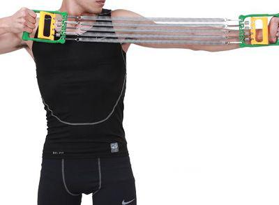 拉力器练什么?拉力器锻炼方法图解 - 健网